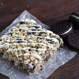 Cookies & Cream Rice Crispy Treats.