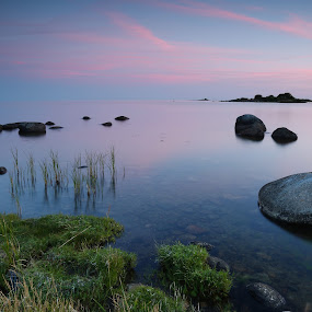 Endless horizon  by Joachim Persson - Landscapes Waterscapes ( water, waterscape, sunset, sea, infinity )