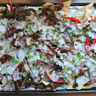 Cheese Steak Nachos.