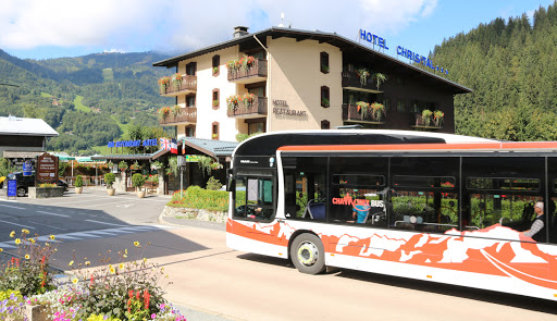 Chamonix bus dans les Houches