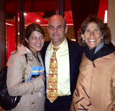Photo: Aacia, Peter Sagal and Ellen after taping of Wait Wait Don't Tell Me!