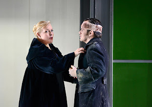 Photo: Theater an der Wien: La mère coupable Oper in drei Akten von Darius Milhaud . Premiere am 8.5.2015. Mireille Delunsch, Andrew Owens. Copyright: Barbara Zeininger
