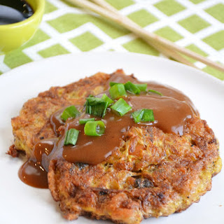 Homemade Egg Foo Young.