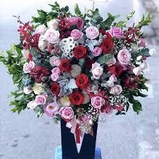 Lẵng hoa đẹp, phong cách, hợp thời đại mang đến vẻ đẹp sang trọng