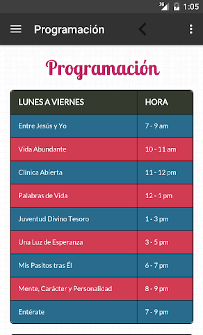 android Ministerio 7Day (App Oficial) Screenshot 4