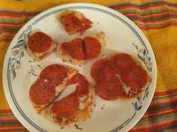 Muffin Personal Pizza