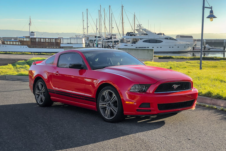 Rent a Racing Red Ford Mustang in San Mateo - Getaround