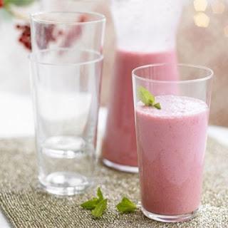 Cranberry & Raspberry Smoothie.