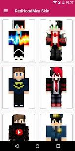 RedHoodMeu Skins for Minecraft PE 1