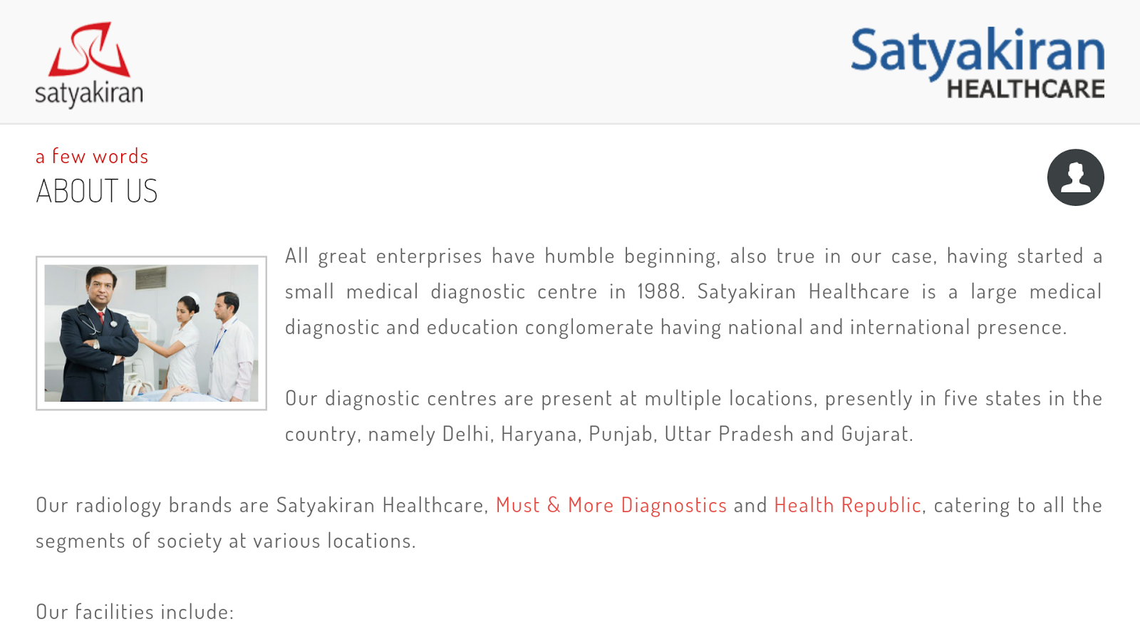 Satyakiran Healthcare- screenshot