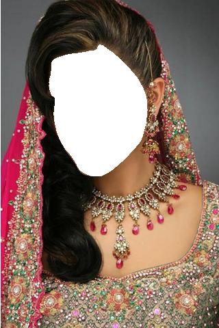 Indian Bride Photo Suit Editor