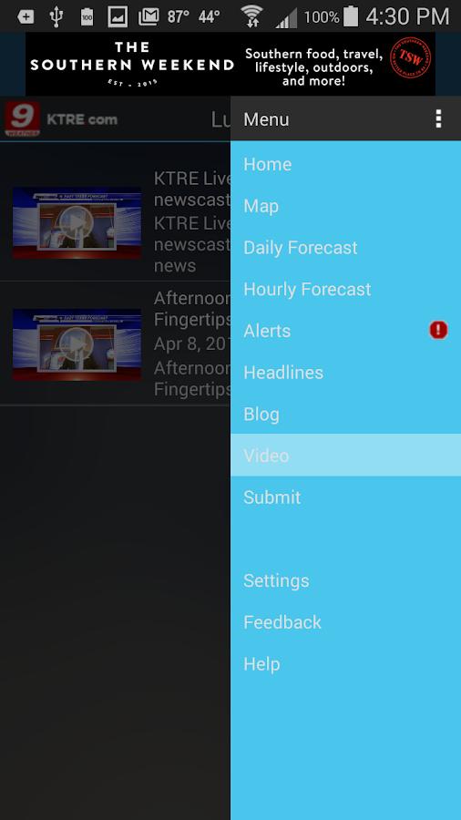 KTRE 9 StormTracker Weather- screenshot