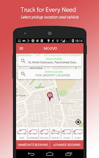 Moovo - Hire Trucks in India- screenshot thumbnail