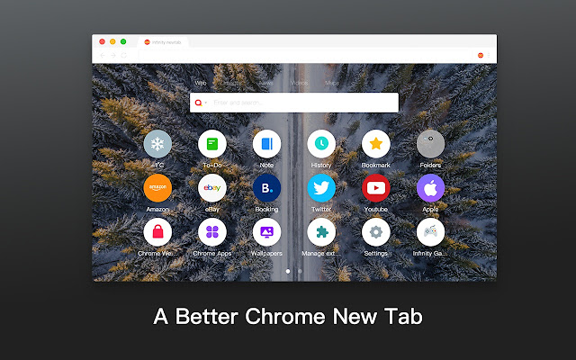 iTab New Tab - A Better Chrome New Tab