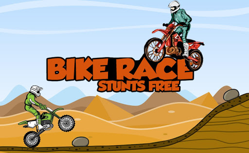 Bike race stunts free