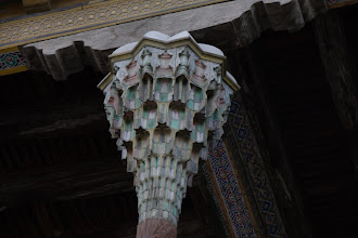 Photo: Day 164 - Ceiling of Bolo Hauz in Bukhara