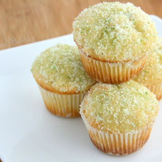Lemon Mini-Muffins with Lime-Scented Sugar