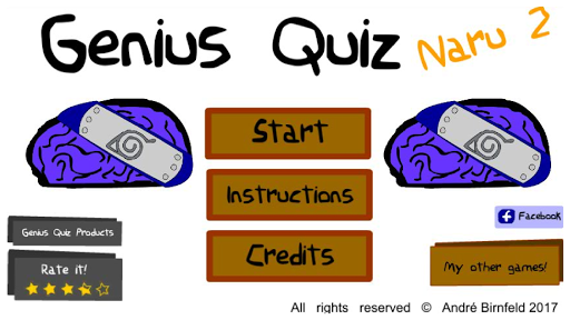 Genius Quiz Naru 2 1.0 screenshots 1