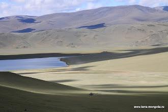 Photo: Встречаются маленькие озера, где можно искупаться