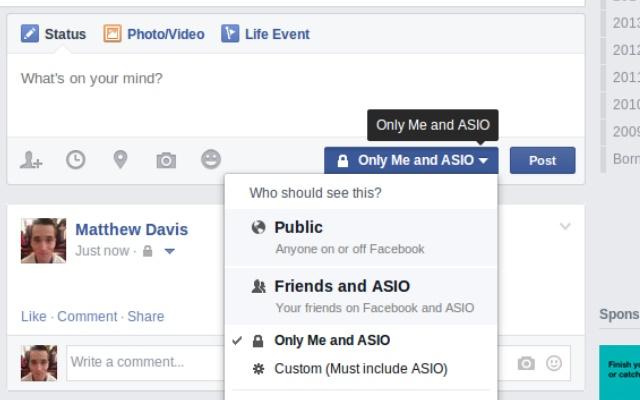 Facebook privacy re-labeller