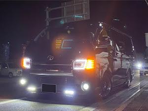 ハイエースバン TRH200Vのカスタム事例画像 天さんの2020年10月25日23:18の投稿