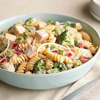 Garden Chicken Pasta Salad.