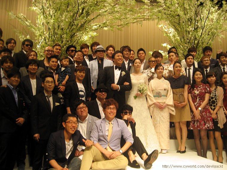junha wedding