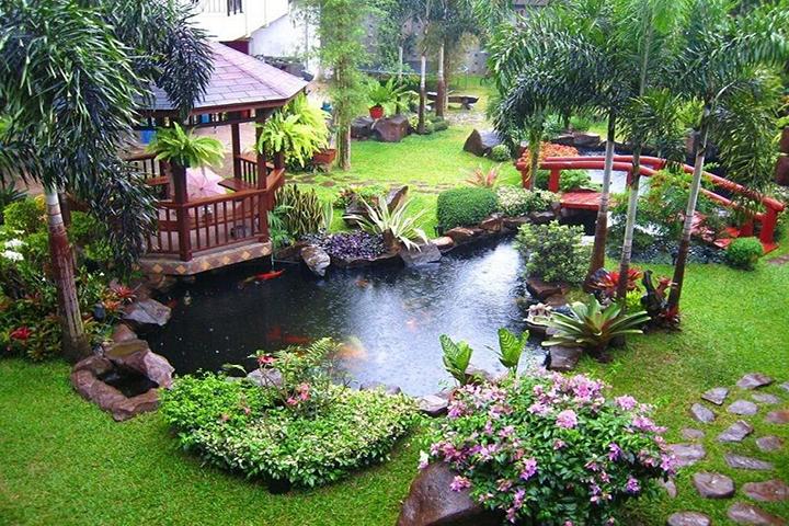 Tiểu cảnh sân vườn có thể mang đến nhiều may mắn