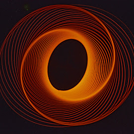 Ying/Yang by John Berry - Abstract Light Painting