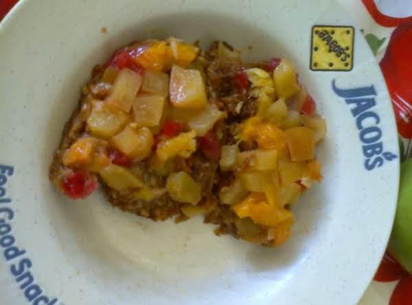 Mixed Fruits Oatbar Recipe