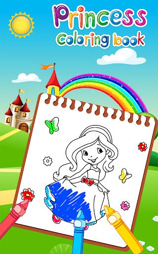 Princess Coloring Book for Kids & Girls Games ud83cudfa8 screenshots 17