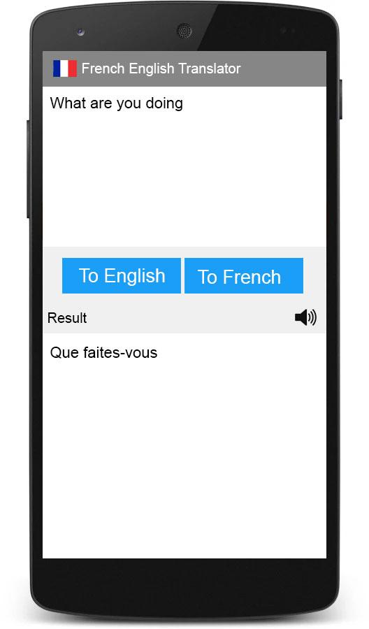 how to translate french to english online
