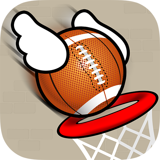 Flappy Dunk - Ball through the Basket
