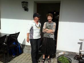 Photo: Seniorchefin Frau Parpan vom Berghaus Tgantieni