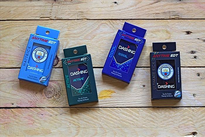 Empat variasi wangian bersaiz mini senang dibawa ke mana-mana