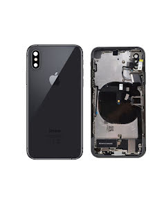 iPhone XS Housing with small parts Original Pulled Space Gray