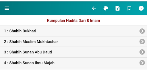 Kumpulan Hadits Dari 8 Imam Apps On Google Play