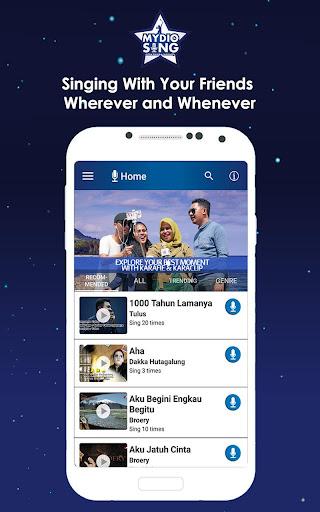 MYDIO Sing - Best Video Karaoke App 1.5.1 gameplay   AndroidFC 2