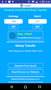 Currency Exchange and Transfer- screenshot thumbnail