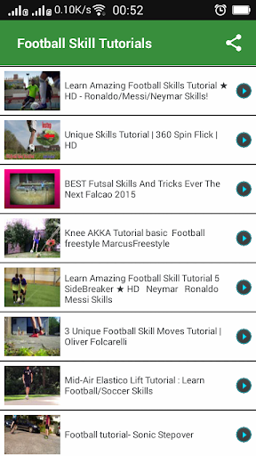 Football Skill Tutorials
