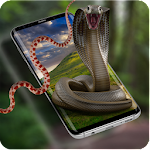 Cobra Snake attack on Phone Prank Icon