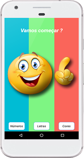 Aprendendo Letras, Nu00fameros e Cores  screenshots 1