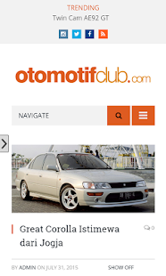 Otomotif Club- screenshot thumbnail