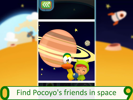 Pocoyo 1, 2, 3 Space Adventure: Discover the Stars apkpoly screenshots 12