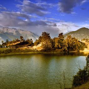 Deoria Tal by Soumen  Basu Mallick - Landscapes Waterscapes