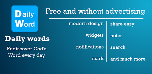 Read every day God's word - with widgets, notfifications and more