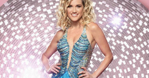Ashley Roberts achieves a perfect score on Strictly Come Dancing