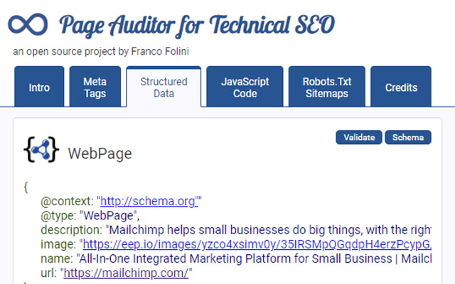 Page Auditor for Technical SEO