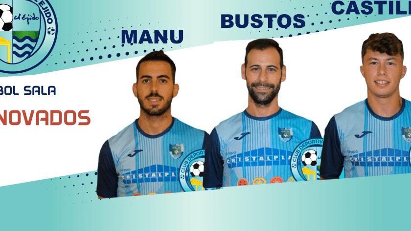 Tres jugadores más para la plantilla del club celeste.