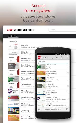 Business Card Reader Pro - Business Card Scanner  screenshots 15